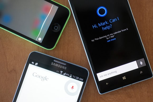 Siri, Google Now and Cortana
